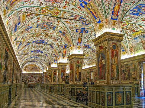 The Vatican Museum Library, Vatican City