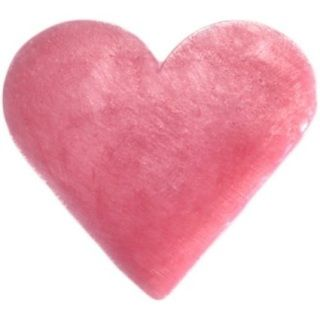 Little heart shaped guest soaps. They are colourful and smell great - fresh and zesty   Sold in a pack of 6. SLS and parabens free. Fragrance: Riose Colour: Pink Each soap measures: 45mm x 40mm  Weight: 20g.