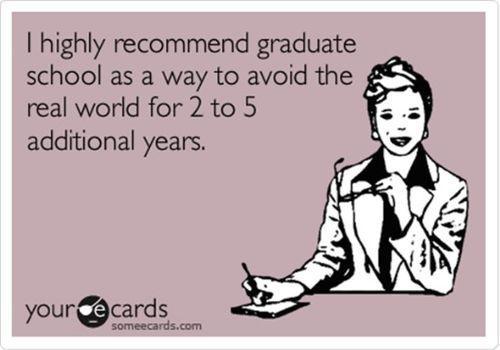Graduate school.: Life Plan, Student, Graduation Schools, 4 Years, Absolutely, Thoughts Exact, My Life, Grad Schools, Law Schools