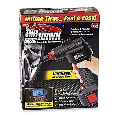 Air Hawk Pro Cordless Portable Air Compressor