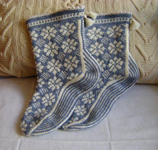 """Socks """"Snow"""""""