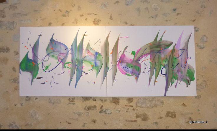"""Les oeuvres d'""""Abdollah Kiaie"""
