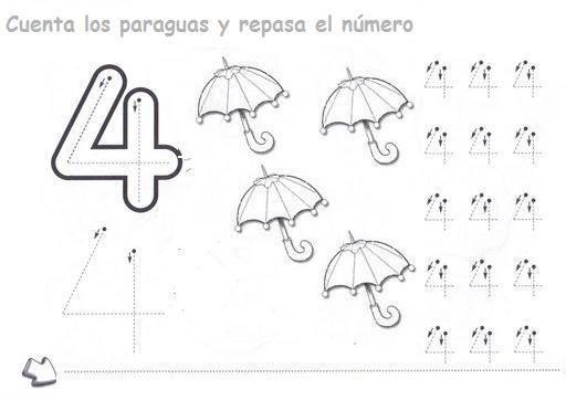 Ficha Del Numero 4
