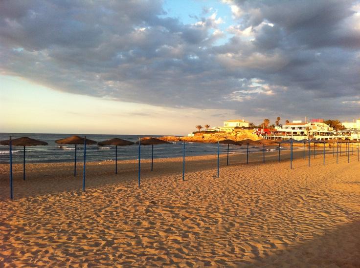 Beach at Javea, Spain