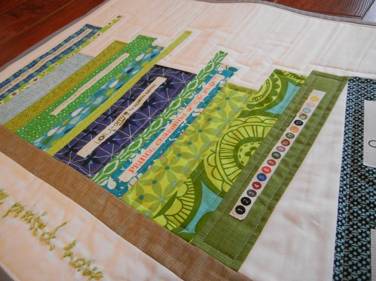 Mini Bookshelf Quilt Tutorial from dontcallmebetsy | Check out patterns on Craftsy!