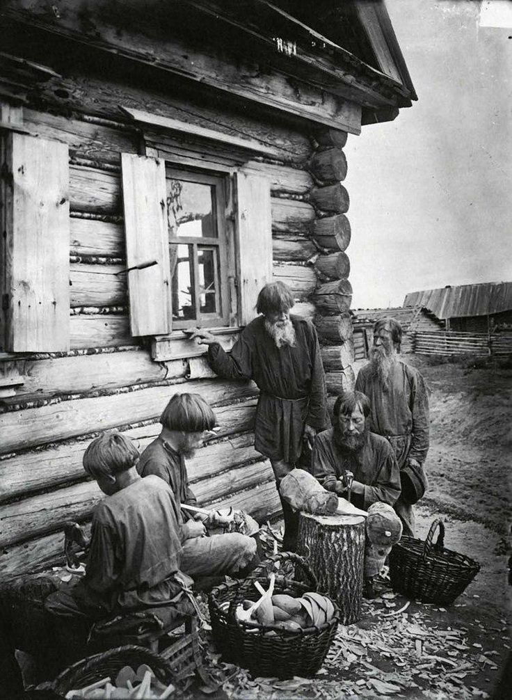 Production of spoons. Russian Empire, 1897