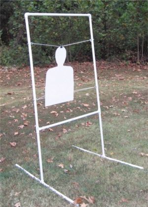 Pvc Target Holder Diy Projects Shooting Targets