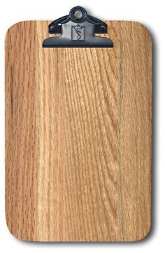 Red Oak Magnetic Clipboard, Refrigerator Magnet Extraordinaire - eclectic - Kitchen Products - Winwood Designs