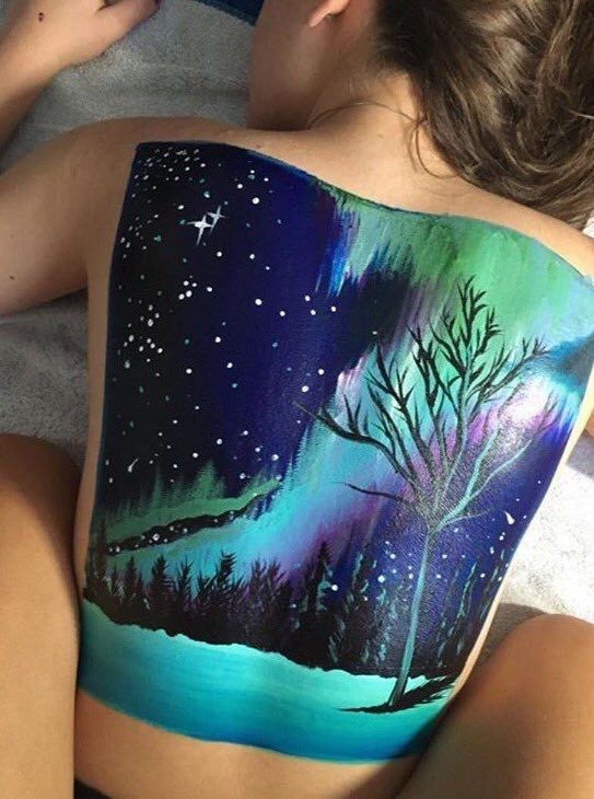 Image result for back painting