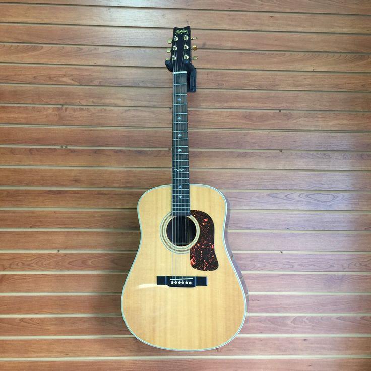 Washburn Acoustic Guitar D-21
