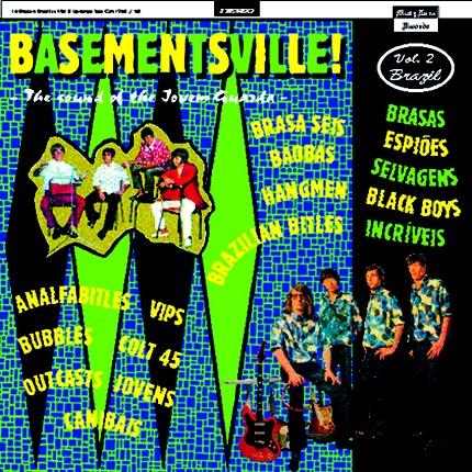 """V/A """"BASEMENTSVILLE (Vol.2) BRAZIL"""" 12"""" LP"""