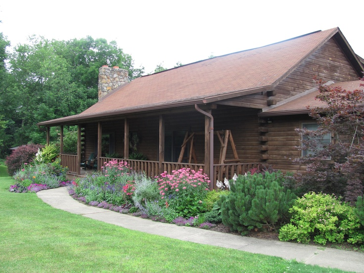 Landscaping Pictures For Log Homes : Discover and save creative ideas
