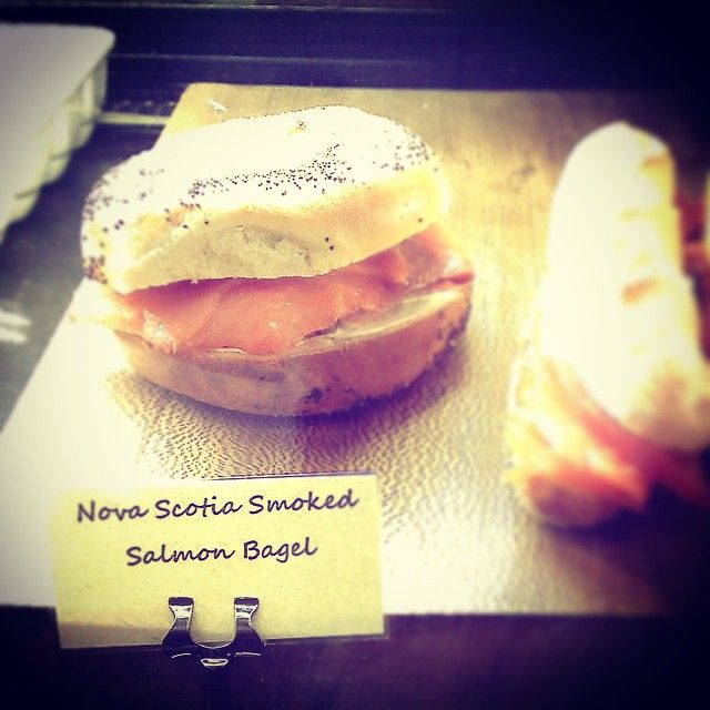 #TBT a bit of pride seeing #NS being well represented in #NYC. #NovaScotia #SmokedSalmon #Manhattan #OceansRoadTrip2015