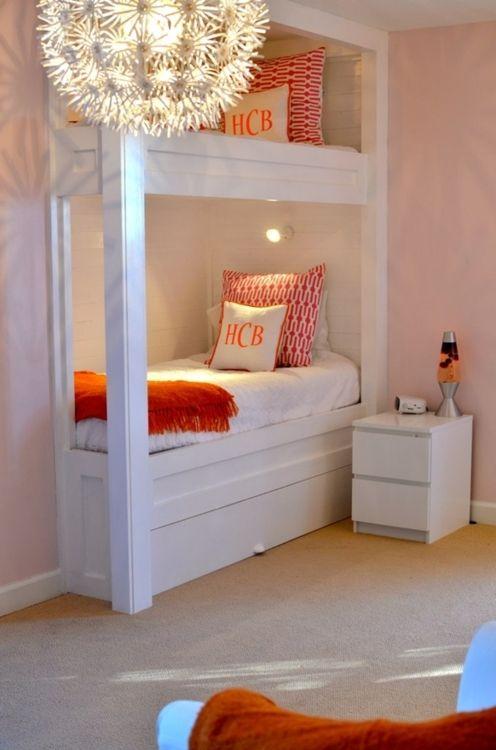 Cape Cod Closet Ideas Part - 15: Via Cape Cod Collegiate; Toddler Room - Peach/coral/pink/orange (