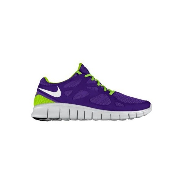 Nike Free Run+ 2 iD Custom Women's Running Shoes - Purple, 8.5 ($130)
