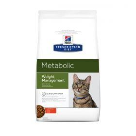 Prescription Diet™ Metabolic Advanced Weight Solution Feline: kattenvoeding. Hill's™ Prescription Diet™ Metabolic is een baanbrekende voeding waarvan wetenschappelijk is bewezen dat het veilig zorgt voor gewichtsverlies en gewichtsbehoud,zowel in wetenschappelijke studies, als in uitgebreide voedingsonderzoeken thuis waarbij 81% van de katten met succes gewicht verloor.