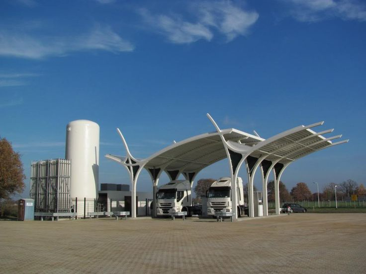 Rolande biogas fuel station Tilburg