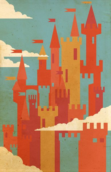 Castles art print by danny haas http society6 com product