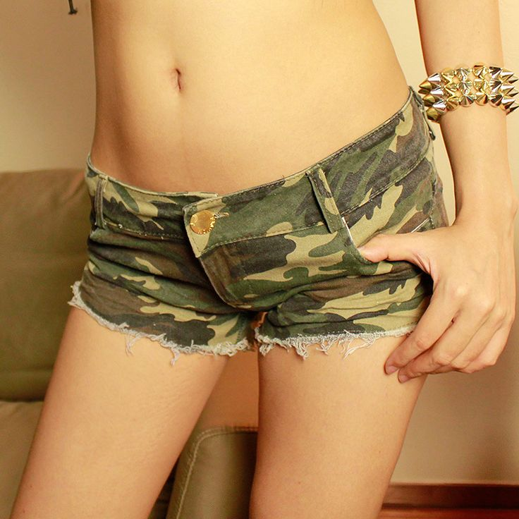 Camouflage Sexy Women Shorts
