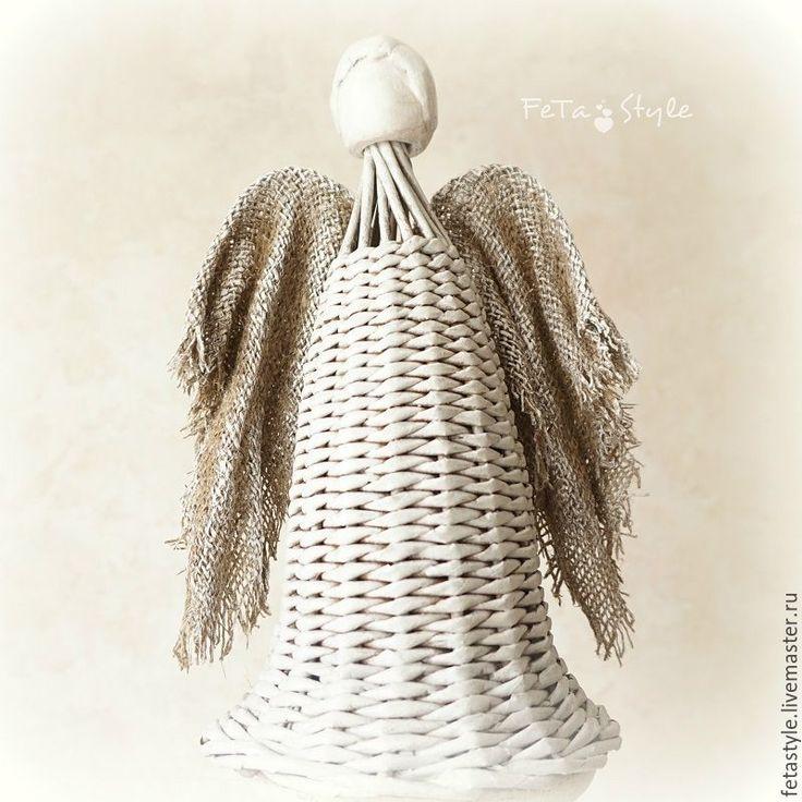 Купить Ангел плетеный интерьерный - ангел плетеный, ангел плетеный купить, ангел интерьерный