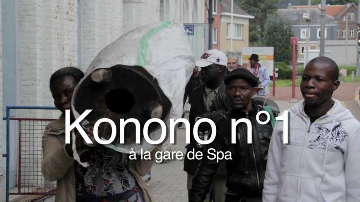 Konono N°1 - Mama Na Bana - Session Live pour les Francofolies de Spa 2012