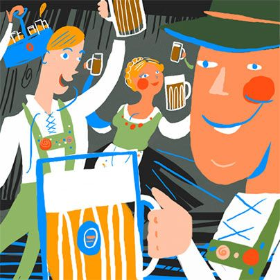 Whether you like your chalice filled with a rare brew or prefer your liter of Hefeweizen to tune of polka, here's where to spend your Saturday--stein in hand.
