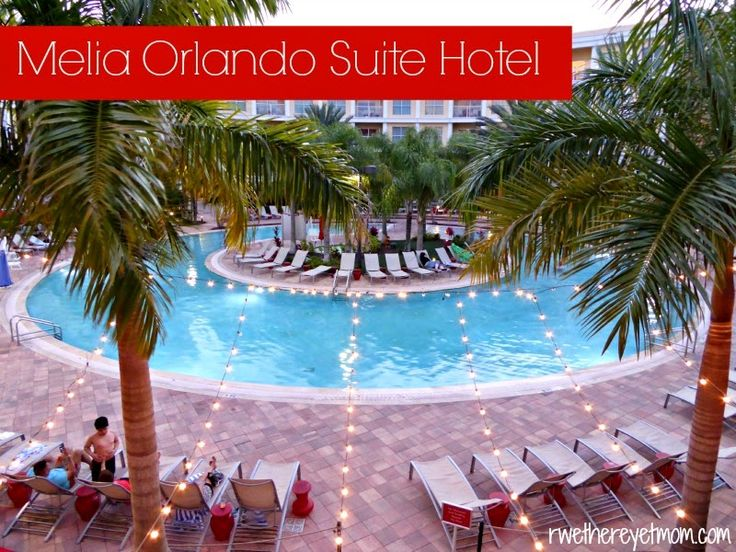 Melia Orlando Suite Hotel ~ Celebration, FL - R We There Yet Mom? | Family Travel for Texas and beyond...