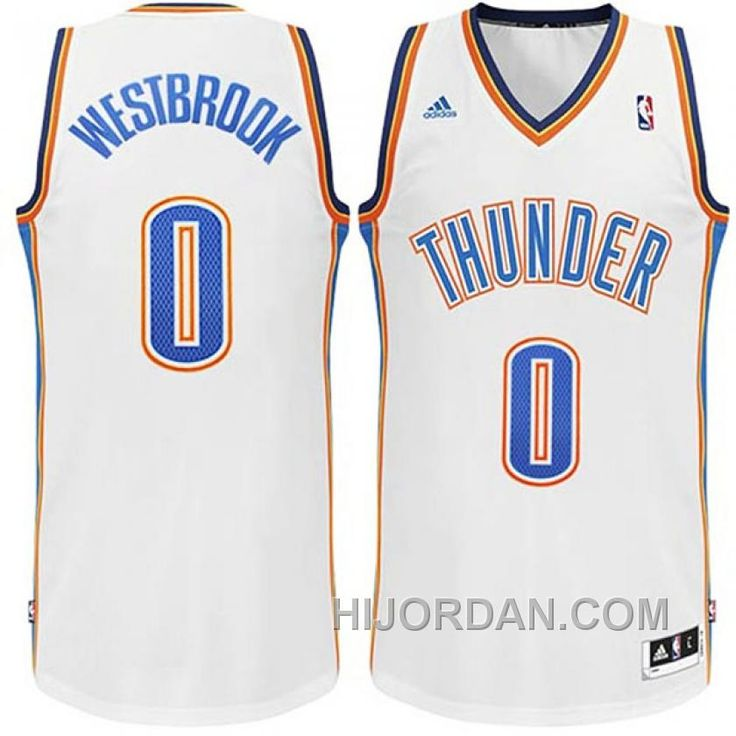 ... NBA 2014 2015 Oklahoma City Thunder 0 Russell Westbrook New Revolution  30 Swingman White Jerseys httpswww.hijordan.comrussell-westbrook-oklahoma-. aad458f98