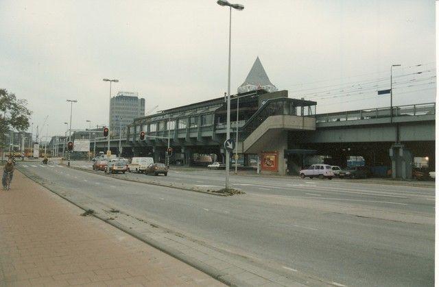 station Rotterdam Blaak 1990