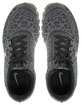Image 4 of Nike Free Running 5.0 V4 Gray Leopard Performance Sneakers