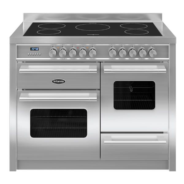 Britannia DELPHI RC11XGIDES 1100mm Twin Electric Range Cooker Induction Hob S/Steel http://www.MightGet.com/january-2017-13/britannia-delphi-rc11xgides.asp