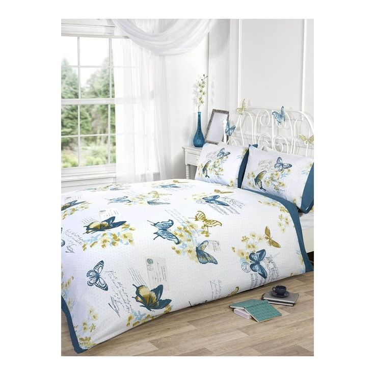 shop our range of duvets, duvet covers, sheets and bedding.Parisienne Butterfly Teal Duvet Set at www.tjhughes.co.uk