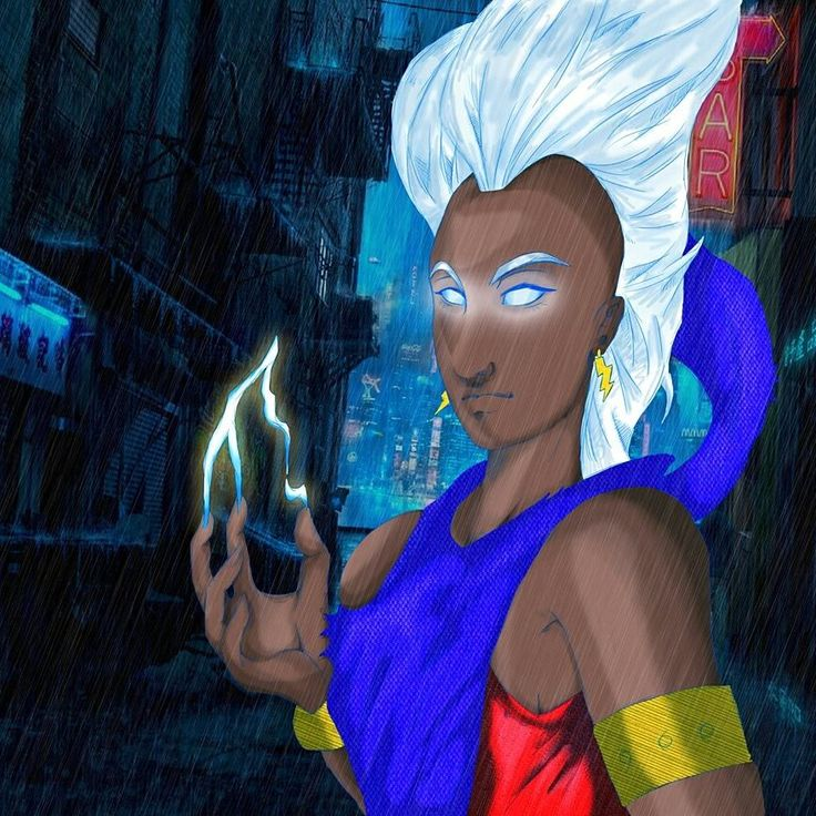 #storm #xmen #draw #drawing #becausedrawingislife #wacomintuos
