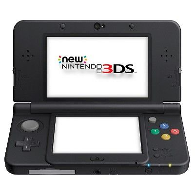 New Nintendo Pokemon 3DS XL Solgaleo Lunala Black Edition