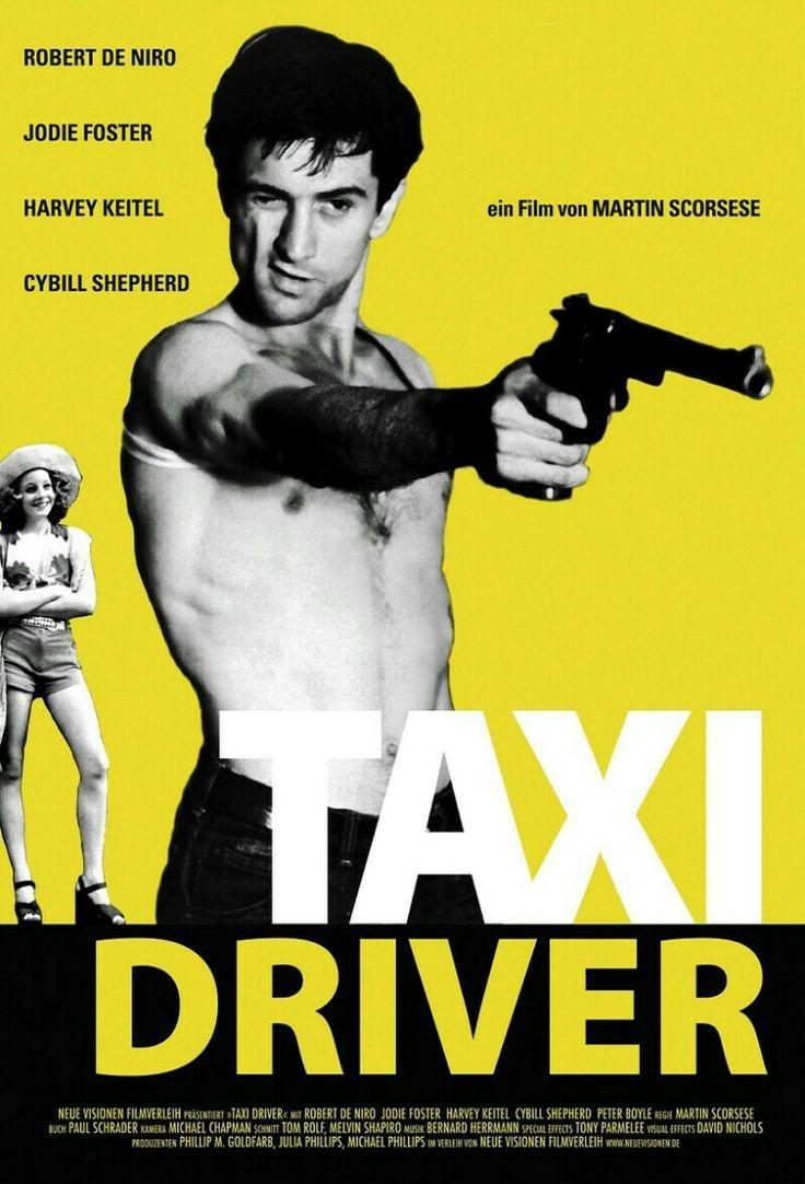 Cute TAXI DRIVER Robert de Niro Jodie Foster Un film de Martin Scorese