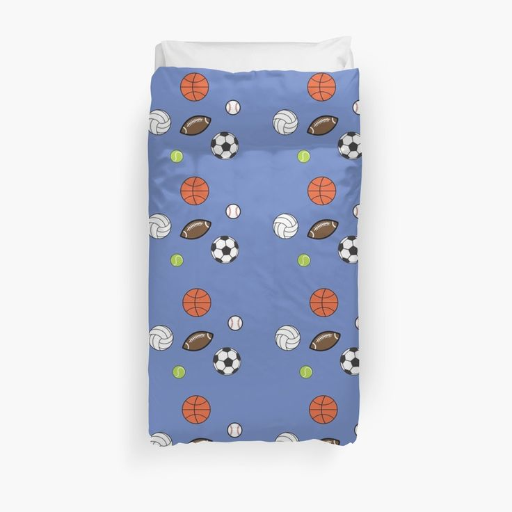 12 Days of Promos: Up to 20% off sitewide extended. Use code DAYSIX. Mini Sports Duvet Cover by Scar Design. #sportsduvet #balls #duvetcover #duvet #quilt #homedecor #home #homegifts #sport #kids #sales #discount #save #redbubble #style #gifts #sports #football #baseball #kidsroom #family #online #shopping #giftsforher #kids #xmasgifts #christmasgifts #bedroom