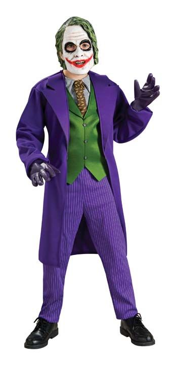 Nice Costumes Batman Dark Knight Deluxe The Joker Child Costume just added...
