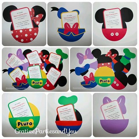 Mickey Mouse Clubhouse Birthday Party by CreativePartiesandU