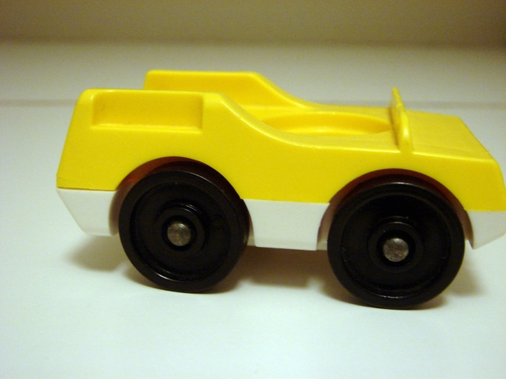 Yellow Car with large Wheels