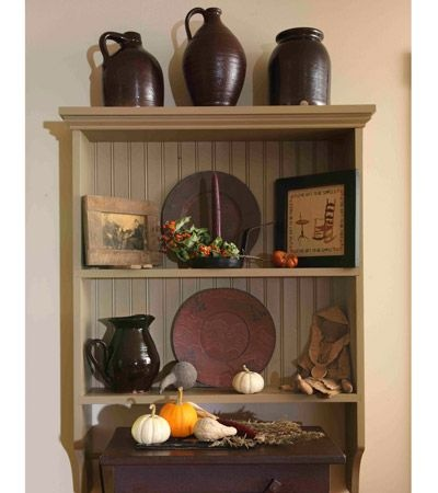 Wall Shelf from Country Sampler