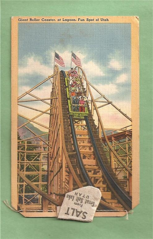 Lagoon Amusement Park-Salt lake City, Utah
