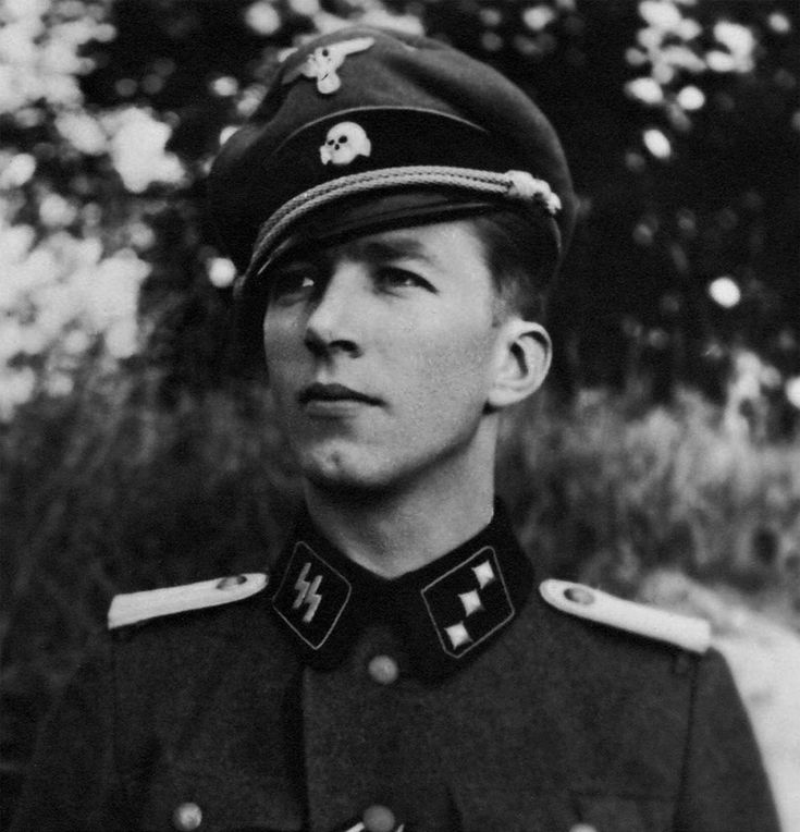 Danish SS-Untersturmführer Ellef Henry Rasmussen photographed in 1944 on the Narva front, Estonia just after graduating from SS-Junkerschule Bad Tölz officer training school. Rasmussen joined Waffen-SS in 1940 and served in the Wiking Division. In 1943 he was assigned to the newly formed 11. SS Freiwilligen Panzergrenadier Division Nordland, where in the final phase of the war become the commander of II./SS-Panzergrenadier Regiment 24 Danmark. He took part many important campaigns and…
