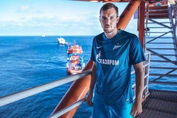 FC Zenit Saint Petersburg Unveil 2016/17 Nike Kits on Arctic Oil Platform