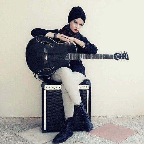 Hijab rock n roll style home