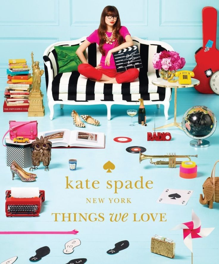 Kate Spade: Things We Love: http://www.stylemepretty.com/living/2015/02/19/the-most-fashionable-coffee-table-books/