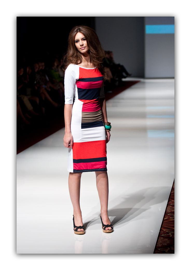 Meghan Multi Striped Dress  Available March 24th at www.berniceandbarclay.com
