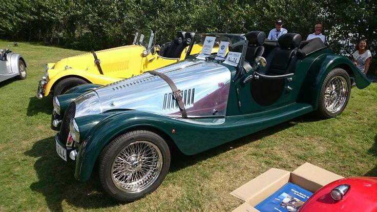 Nice Morgan 2014. Halmstad, Sweden, Sports Car Event.