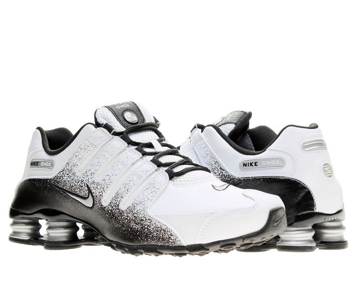 Nike Shox NZ EU White/Silver-Black Mens Running Shoes 501524-103 #Nike #RunningCrossTraining