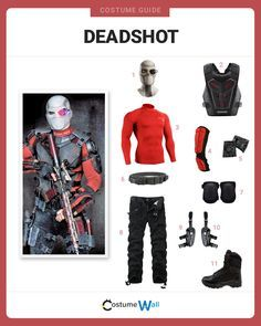 Gear up and get the look of Deadshot played by Will Smith in DC's latest hit movie Suicide Squad.