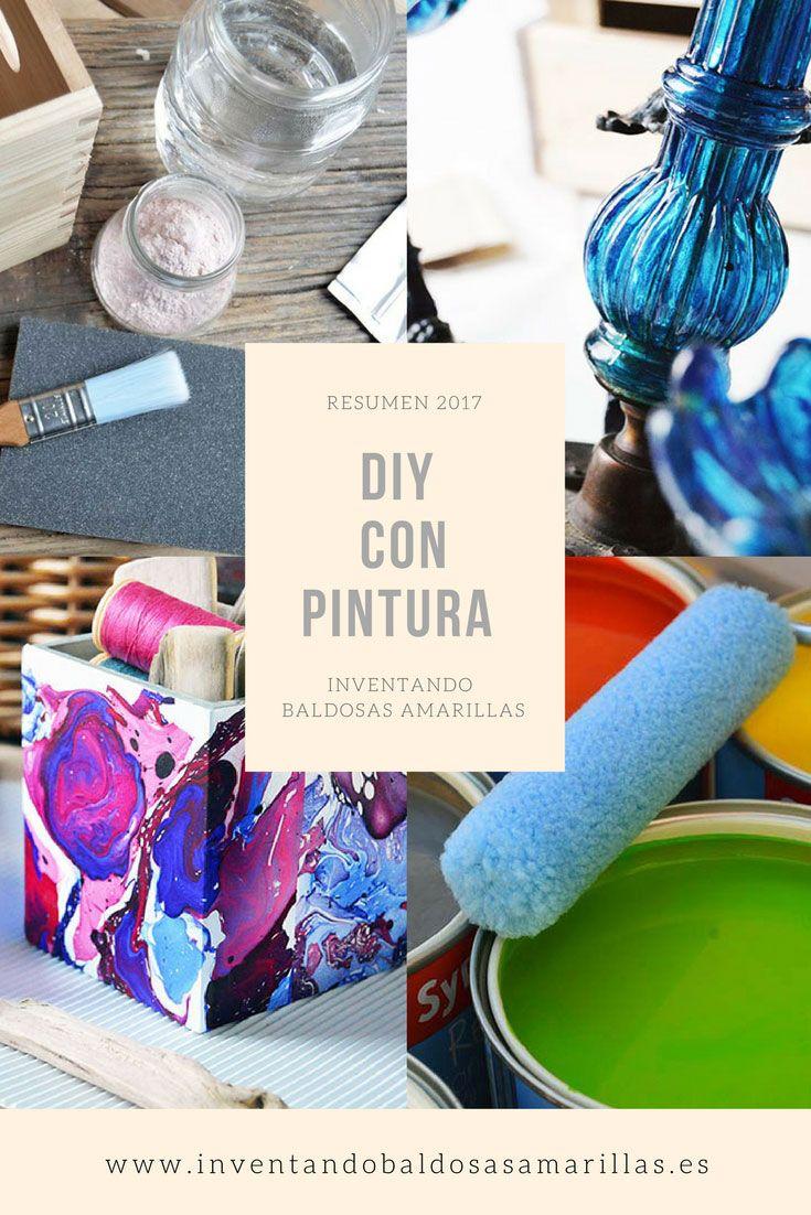Resumen proyectos handmade 2007 DIY con pintura